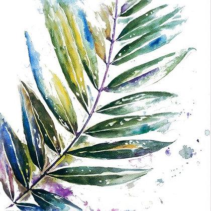 Folhas Coloridas II