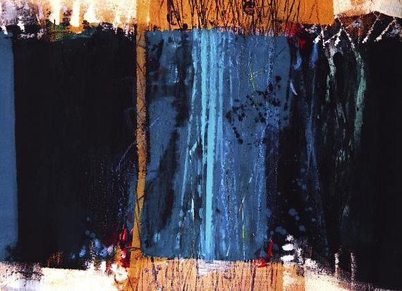 Abstract Blue II