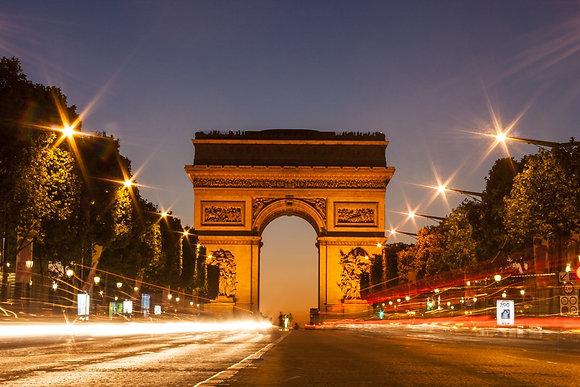 Arc Triumph, Paris- França