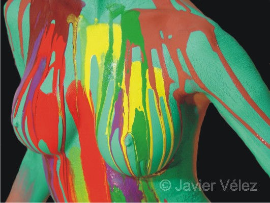 Body Painting Laure