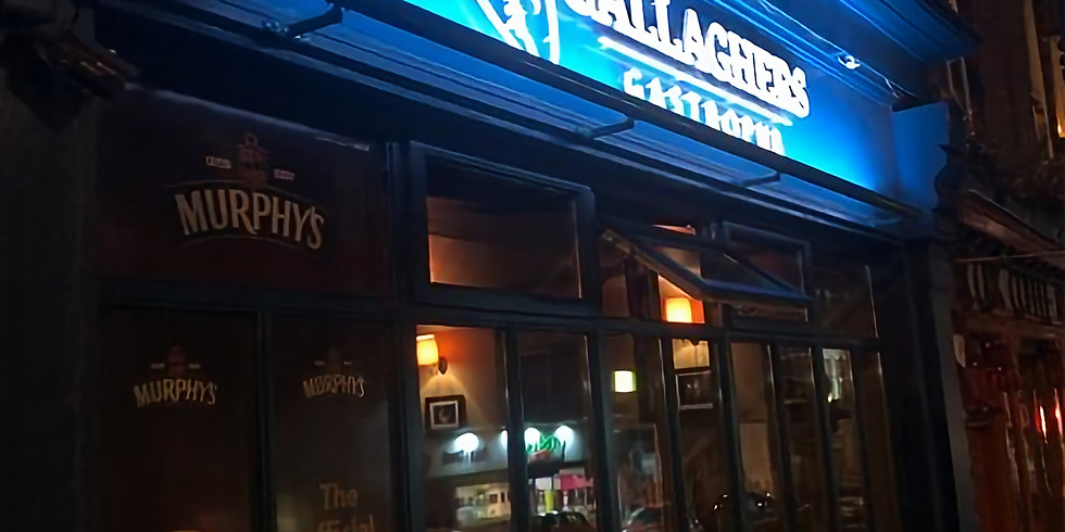 9pm - Hugh Buckley Group @ Gallagher's