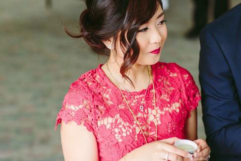 Tea Ceremony makeup