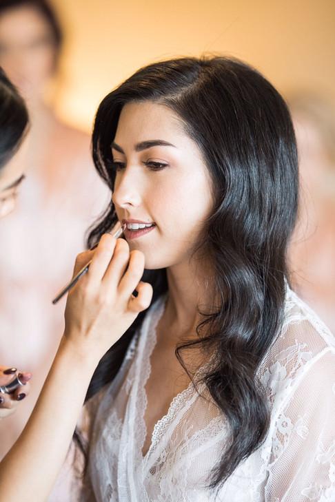 Makeup: Julie Hui; Hair: HairbyJC; Photo: Truphotography