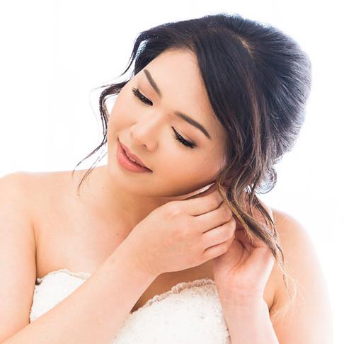 The beautiful bride, Kim