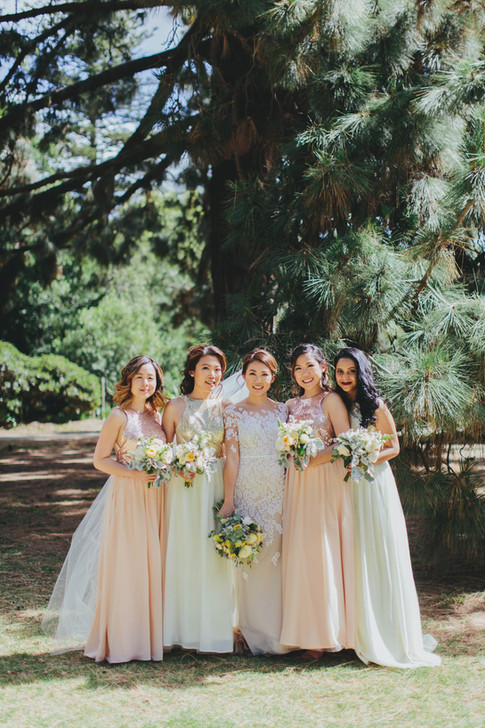 Lydia and her bridesmaids