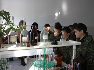 Экологические экскурсии для школьников на объекты водоснабжения РЭУ «Троицкий групповой водопровод»