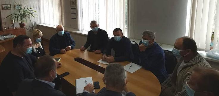 Рабочий выезд директора ГУП КК «Кубаньводкомплекс» Александра Лазарева в Ейский район