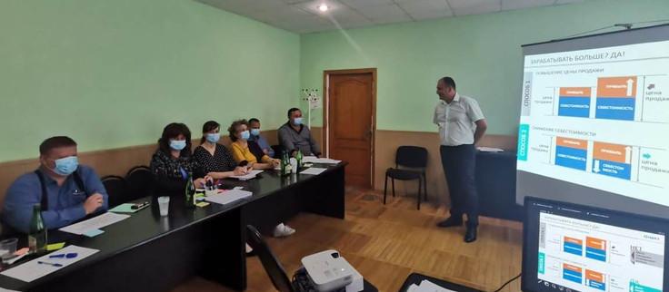 Внедрение бережливого производства в РЭУ «ЕГВ» ГУП КК «Кубаньводкомплекс»