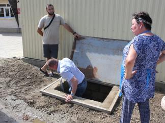 Сотрудники РЭУ «Таманский групповой водопровод» провели массовый рейд в хуторе Белый