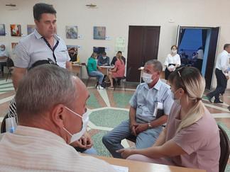 ГУП KK «Кубаньводкомплекс» участвовал в работе мобильной приемной губернатора Кубани