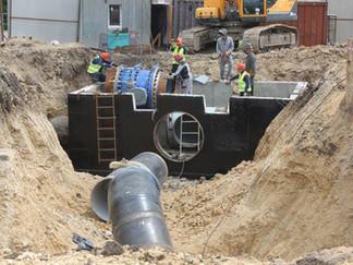 Завершено строительство 29-километрового участка нового магистрального водовода РЭУ «ТГВ»