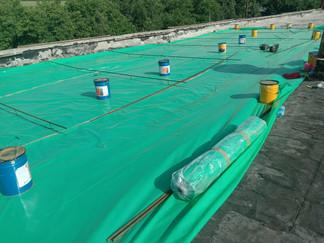 На участке головных сооружений РЭУ «ЕГВ» ГУП КК «Кубаньводкомплекс» ведутся работы по ремонту зданий