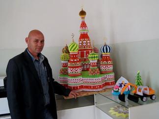 Храм в технике оригами