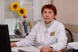 Заместитель главного врача по медицинской части  Шапошникова Марина Анатольевна