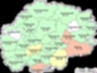 Контингенты больных бациллярными формами туберкулеза (все формы) на конец года в разрезе муниципальных образований (на 100 тысяч населения)