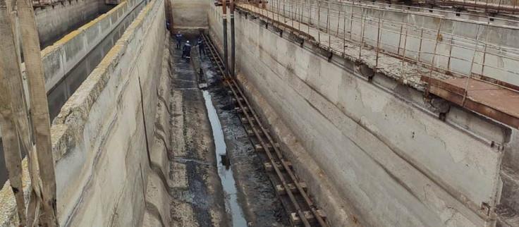 ГУП КК Кубаньводкомплекс приступил к ремонтным работам на очистных сооружениях канализации в г.Ейске