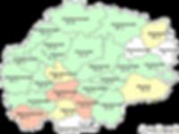 Заболеваемость активным туберкулезом (все формы) в разрезе муниципальных образований (на 100 тысяч населения)