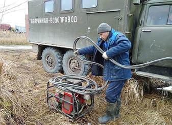 Специалисты РЭУ «Троицкий групповой водопровод» ГУП КК «Кубаньводкомплекс» выполнили работы по врезк