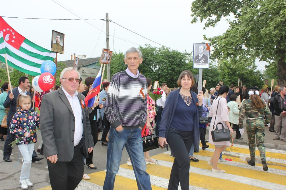 Работники ГУП КК «Кубаньводкомплекс» приняли участие в мероприятиях, посвященных 73-й годовщине Победы