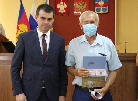 Имя работника РЭУ «ТамГВ» Виктора Кулик занесено на Доску почета Темрюкского района