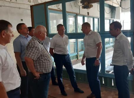 Первый зам. министра ТЭК и активисты ОНФ посетили объекты РЭУ «ЕГВ» и обсудили вопросы водоснабжения