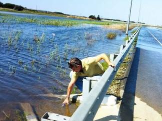 ГУП КК «Кубаньводкомплекс» устранил порыв магистрального водовода на Таманском полуострове.