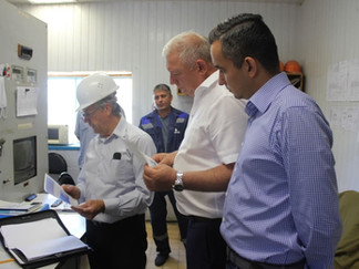 Вице-губернатор Краснодарского края и министр ТЭК и ЖКХ региона с рабочим визитом посетили ТГВ
