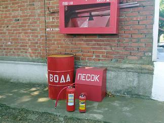 В ГУП КК «Кубаньводкомплекс» проведены учения по пожарной безопасности