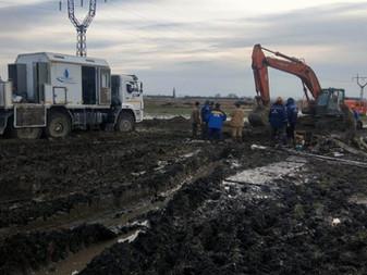 Авария на магистральном водоводе РЭУ «Троицкий групповой водопровод» полностью устранена