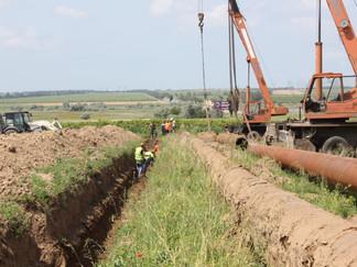 Специалисты РЭУ «ТамГВ» заменили аварийный участок магистрального водовода