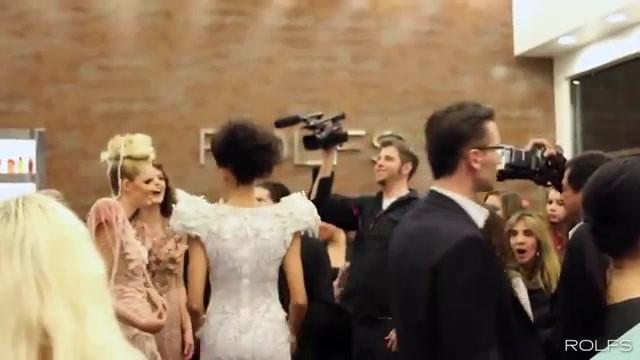 Furne One Fashion Show Rolfs Salon Red C