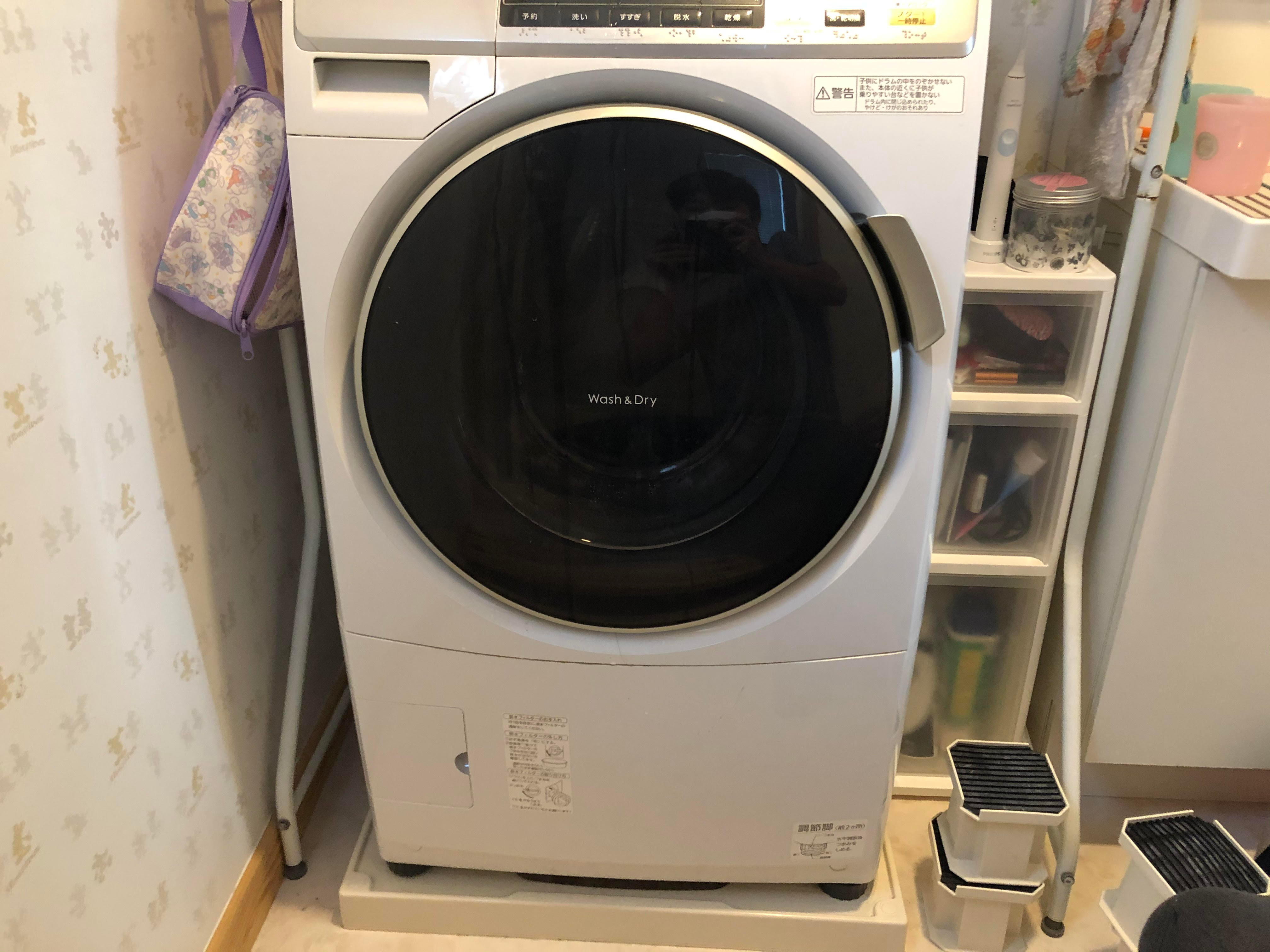 洗濯機設置(縦型・ドラム型)