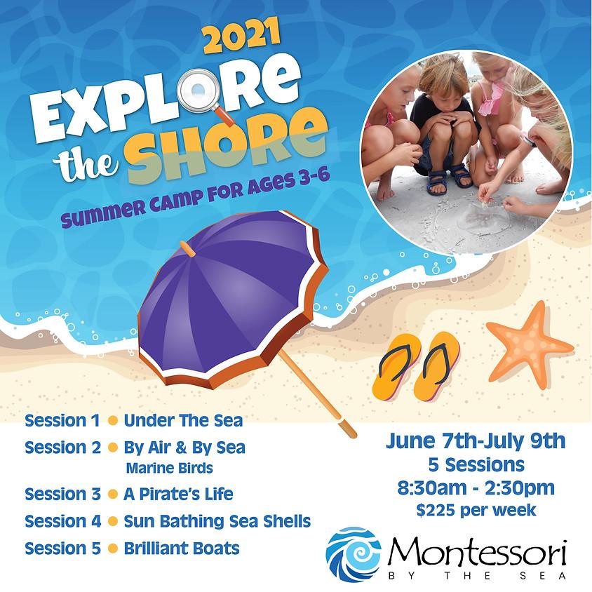 2021 Explore the Shore Summer Camp