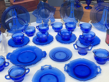 Cobalt Blue Glass: Through the Ages