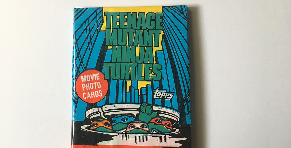 Teenage Mutant Ninja Turtles Movie Cards ~ TOPPS