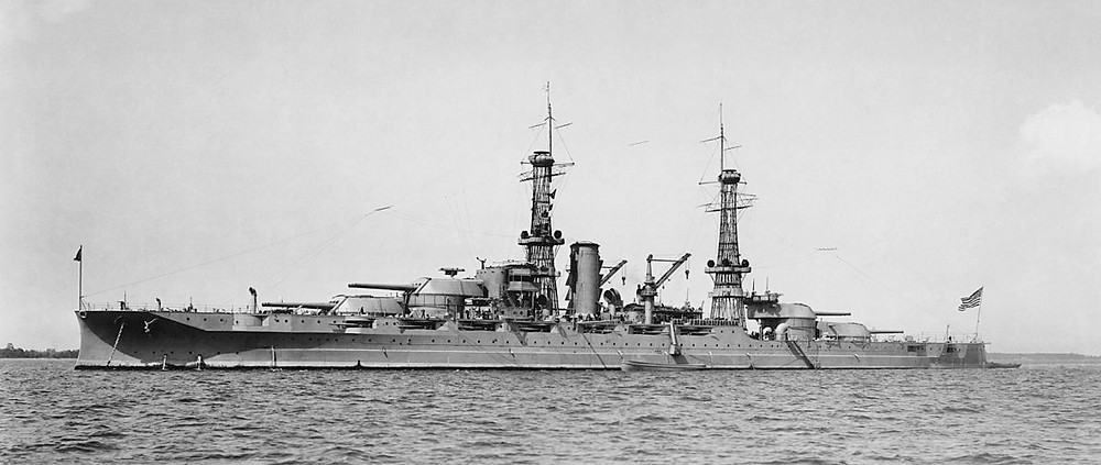 The USS Arizona (BB-32) Vessel - Built in Brooklyn