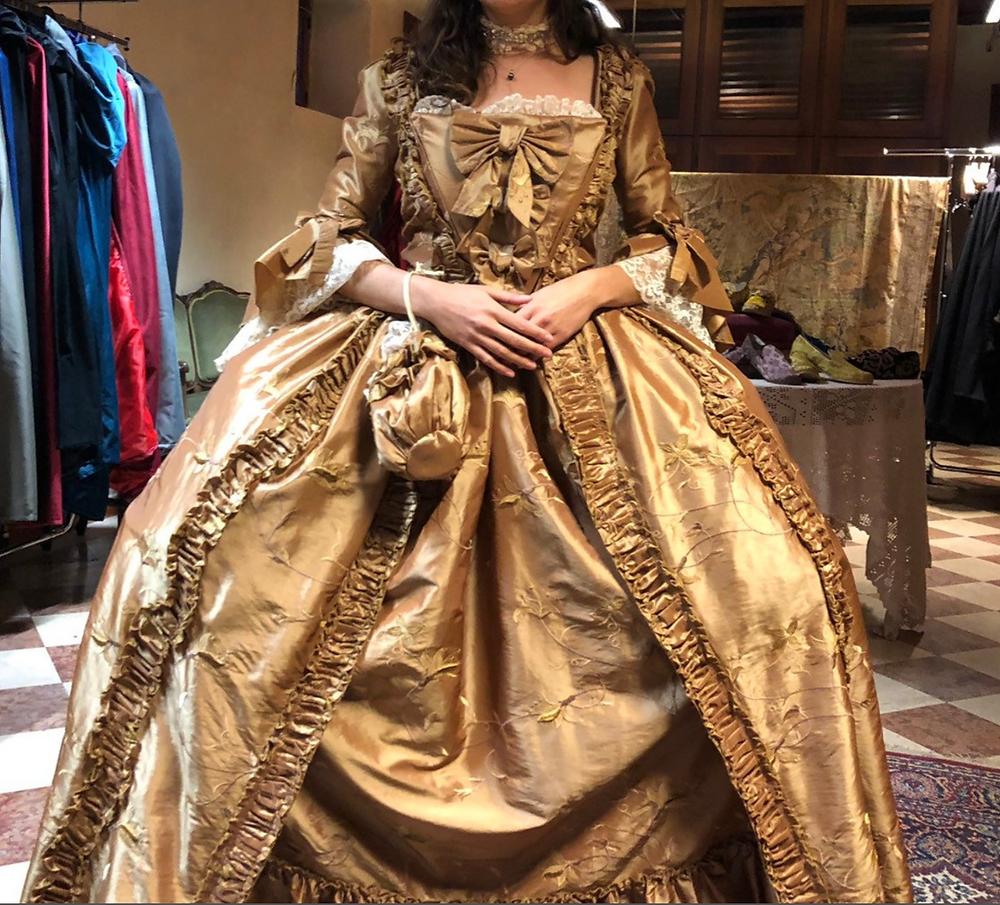 Handmade Historical Reproduction 1800s Dress
