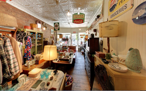 Interior of our first shop, Brownstone Treasures before closing in 2014