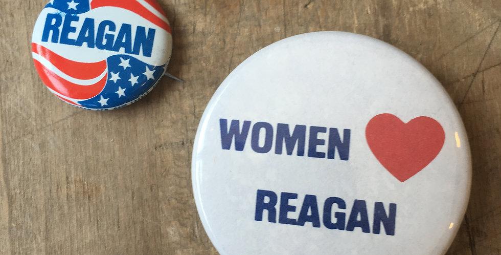 Ronald ReaganCampaign Button