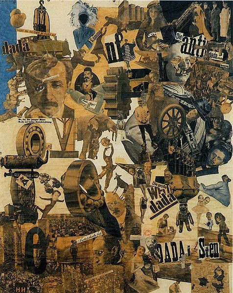 Hannah Höch, Dada Collage, 1919