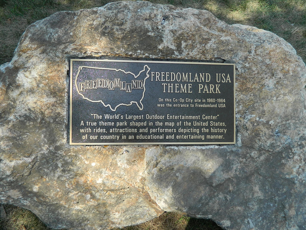 Co-Op City Plaque Commemorating Freedomland