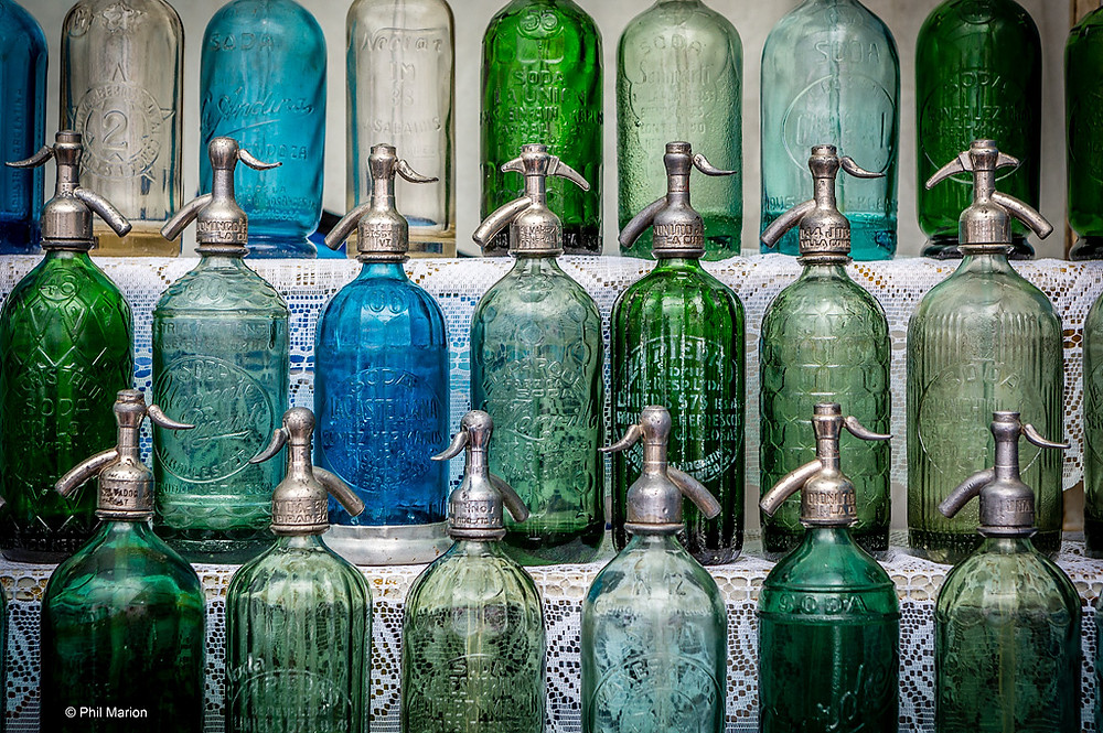 Seltzer Bottle Collection