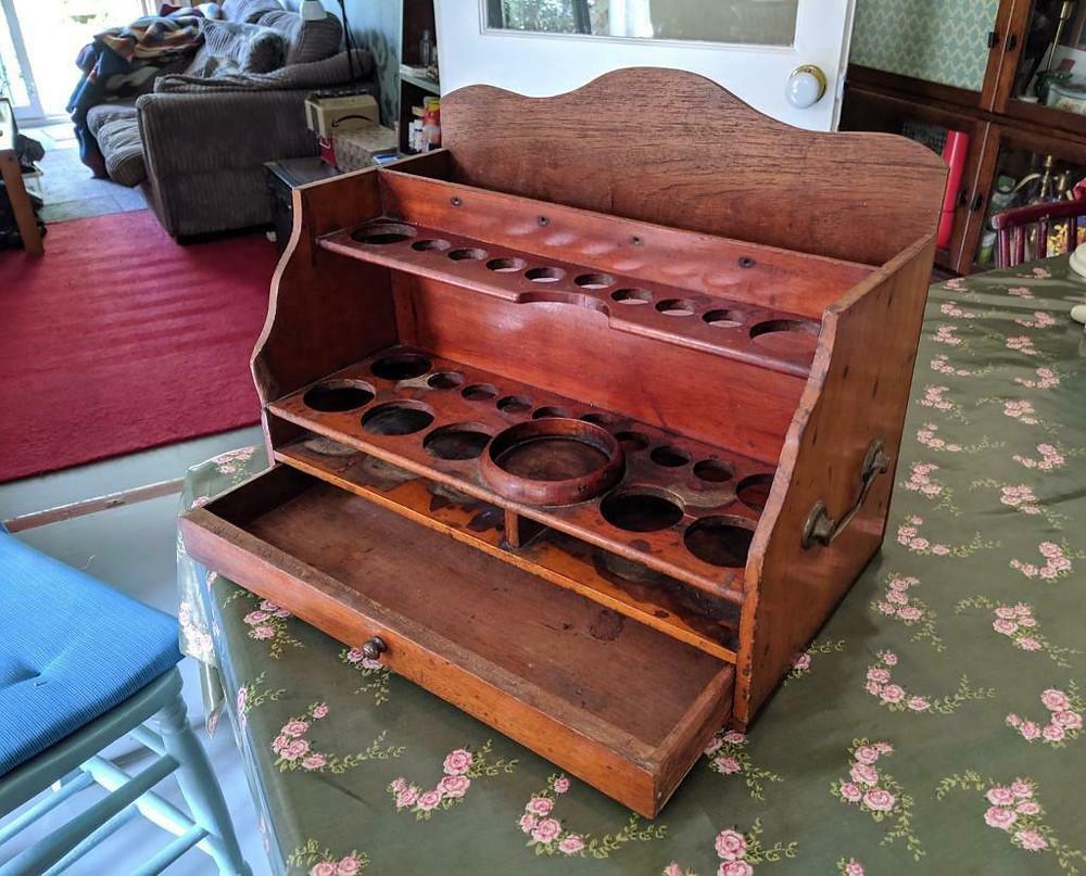 Victorian Portable Chemistry Set