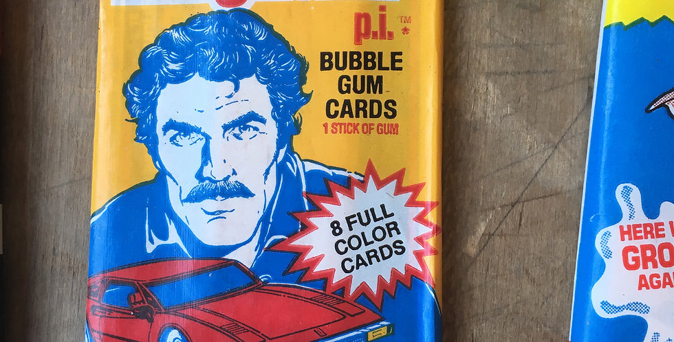 Magnum P.I. Card Pack (Gum with 8 Cards)