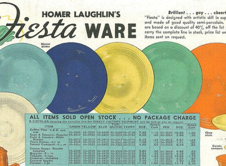Cinco De Mayo: Time for Fiesta(ware)!