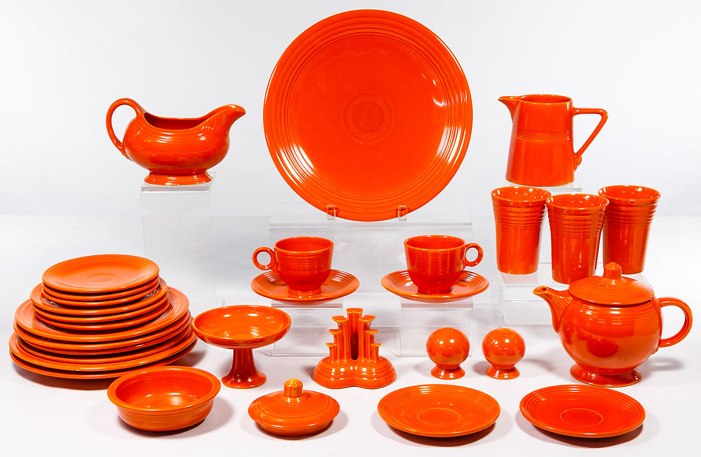 "Fiestaware ""Radioactive Red"" Collection"