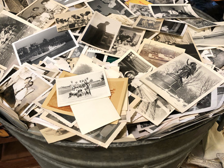 We've Got Tons of Old Photographs in a Big Bin, but Why?
