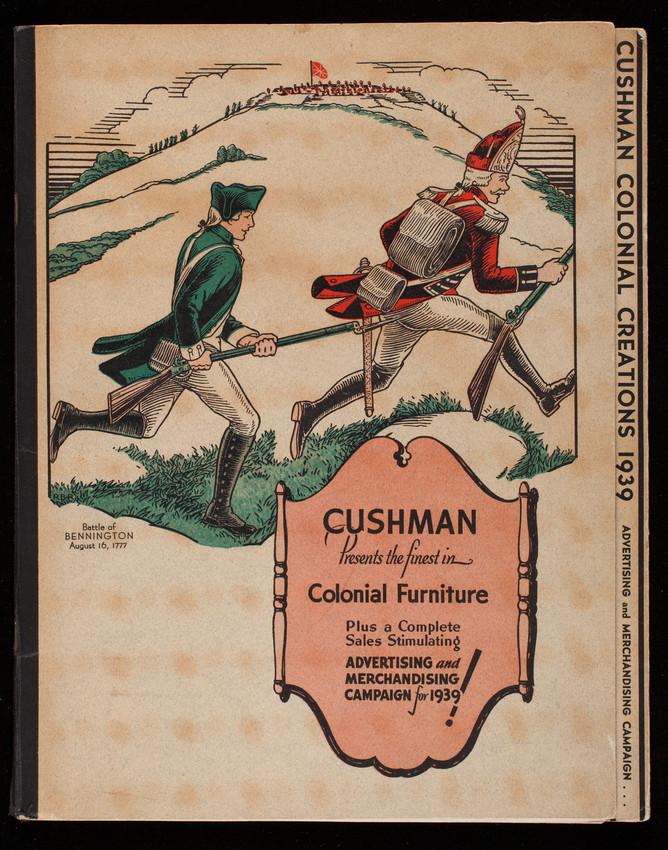 Cushman Colonial Furniture Ad (1939)