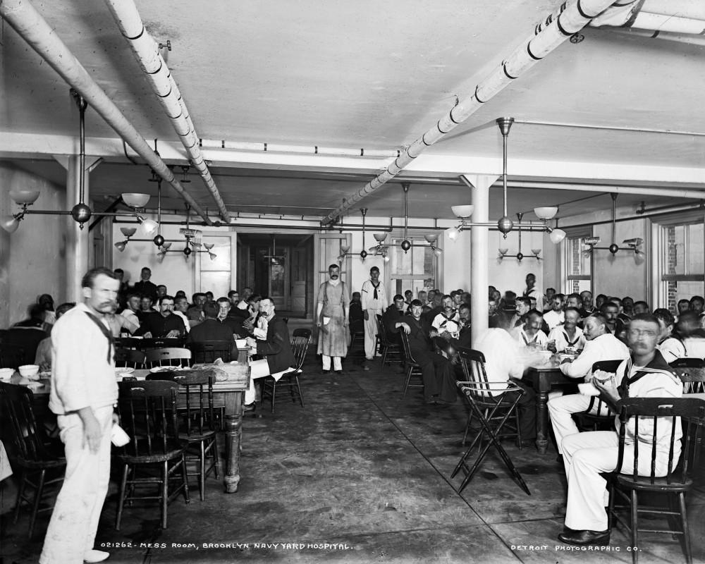 Interior shot of the Navy Yard Hospital's M.R.S.S Room