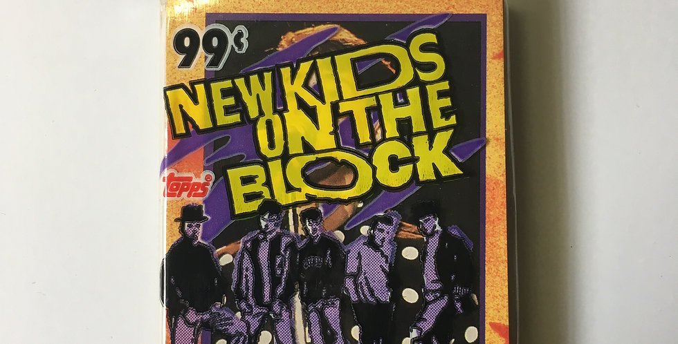 New Kids On The Block Photo Cards by TOPPS